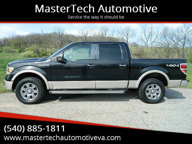 2010 Ford F-150 for sale at MasterTech Automotive in Staunton VA
