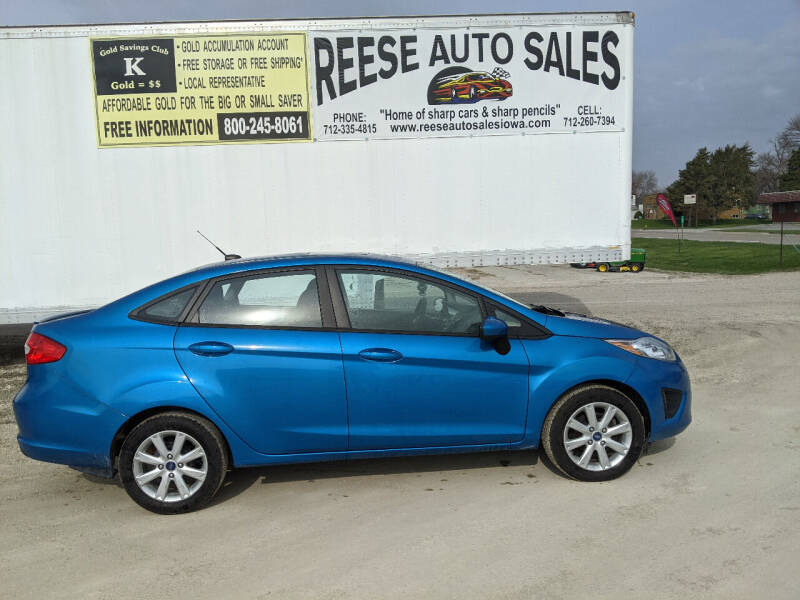2012 Ford Fiesta for sale at Reese Auto Sales in Pocahontas IA