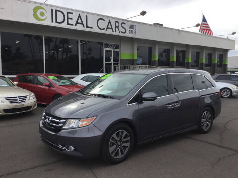 2014 Honda Odyssey for sale at Ideal Cars in Mesa AZ