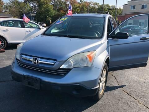 2008 Honda CR-V for sale at M & J Auto Sales in Attleboro MA