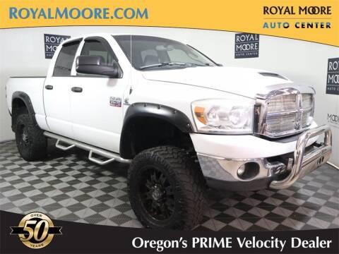 2008 Dodge Ram Pickup 2500 for sale at Royal Moore Custom Finance in Hillsboro OR