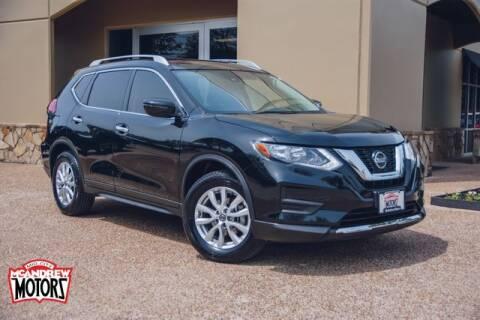 2020 Nissan Rogue for sale at Mcandrew Motors in Arlington TX