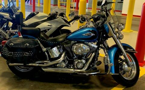 2011 HARLEY DAVIDSON FLSTC for sale at Dad's Auto Sales in Newport News VA