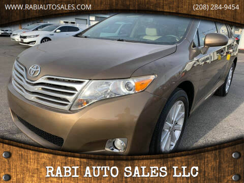 2011 Toyota Venza for sale at RABI AUTO SALES LLC in Garden City ID