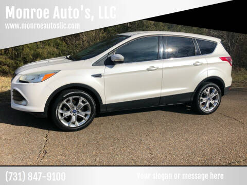 2013 Ford Escape for sale at Monroe Auto's, LLC in Parsons TN