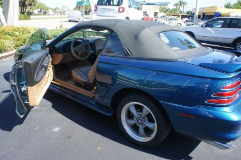 1995 Ford Mustang for sale at Dream Machines USA in Lantana FL