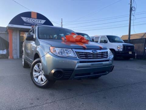 2009 Subaru Forester for sale at OTOCITY in Totowa NJ
