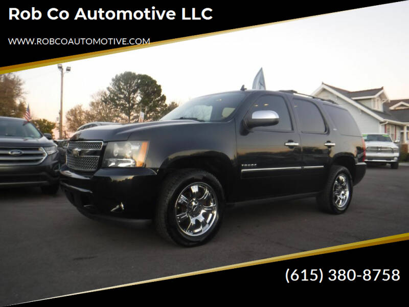2011 Chevrolet Tahoe for sale at Rob Co Automotive LLC in Springfield TN
