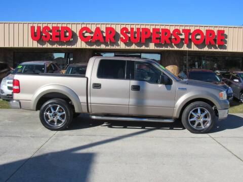 2004 Ford F-150 for sale at Checkered Flag Auto Sales NORTH in Lakeland FL