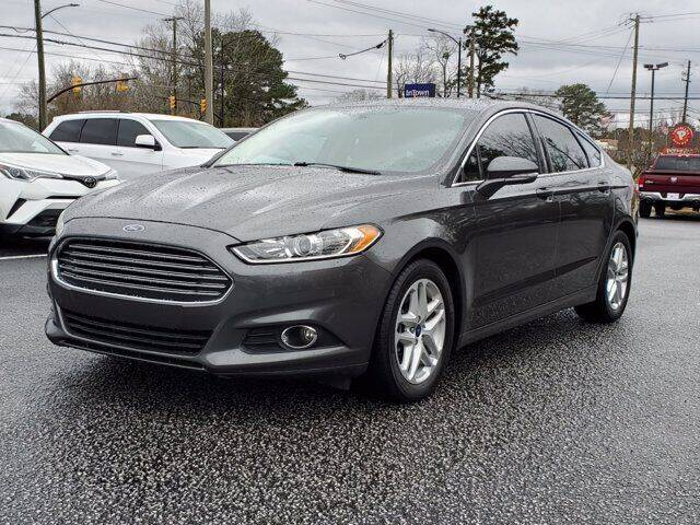 2015 Ford Fusion for sale at Gentry & Ware Motor Co. in Opelika AL