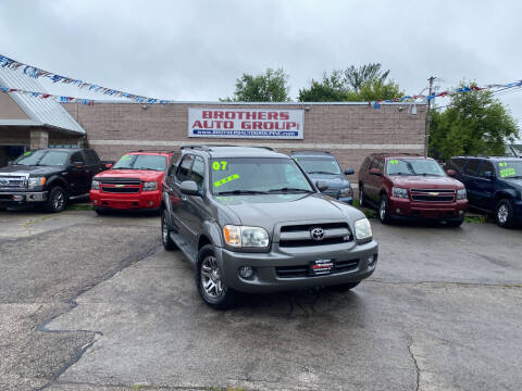2007 Toyota Sequoia for sale at Brothers Auto Group in Youngstown OH