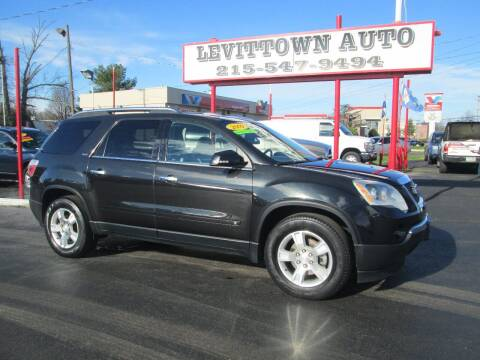 2009 GMC Acadia for sale at Levittown Auto in Levittown PA