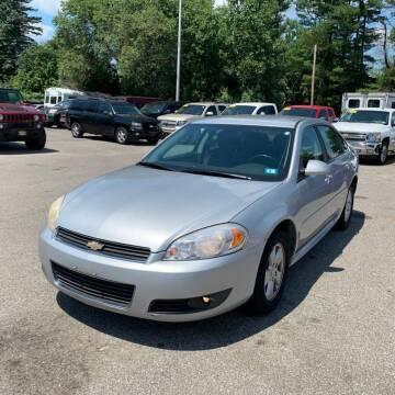 2011 Chevrolet Impala for sale at JOANKA AUTO SALES in Newark NJ