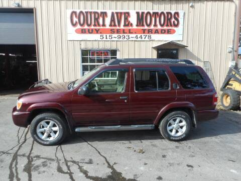 2004 Nissan Pathfinder for sale at Court Avenue Motors in Adel IA