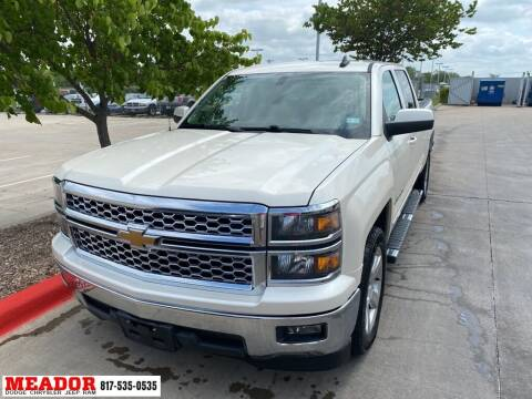 2015 Chevrolet Silverado 1500 for sale at Meador Dodge Chrysler Jeep RAM in Fort Worth TX