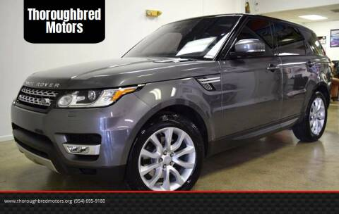 2016 Land Rover Range Rover Sport for sale at Thoroughbred Motors in Wellington FL