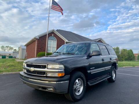 2003 Chevrolet Tahoe for sale at HillView Motors in Shepherdsville KY