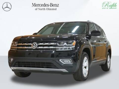 2018 Volkswagen Atlas for sale at Mercedes-Benz of North Olmsted in North Olmstead OH