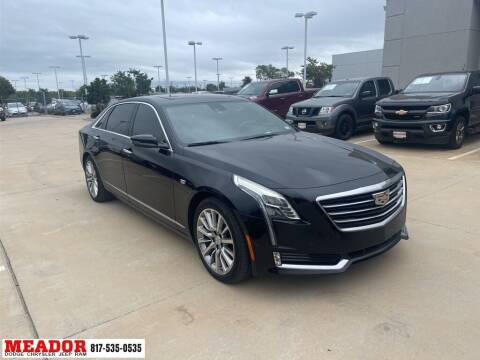 2017 Cadillac CT6 for sale at Meador Dodge Chrysler Jeep RAM in Fort Worth TX