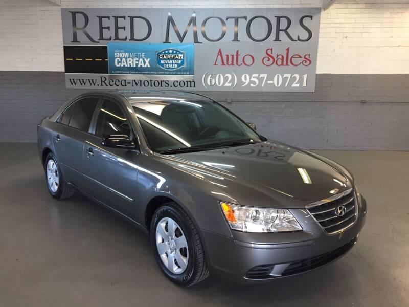 2010 Hyundai Sonata for sale at REED MOTORS LLC in Phoenix AZ