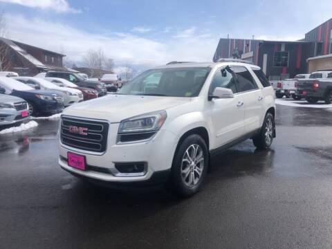 2014 GMC Acadia for sale at Snyder Motors Inc in Bozeman MT