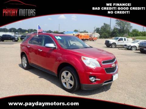2014 Chevrolet Equinox for sale at Payday Motors in Wichita KS
