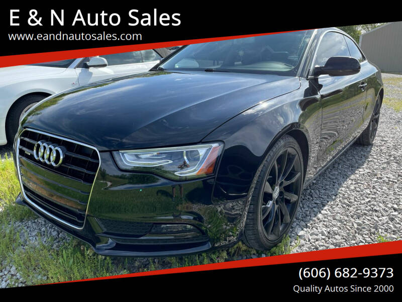 2013 Audi A5 for sale at E & N Auto Sales in London KY
