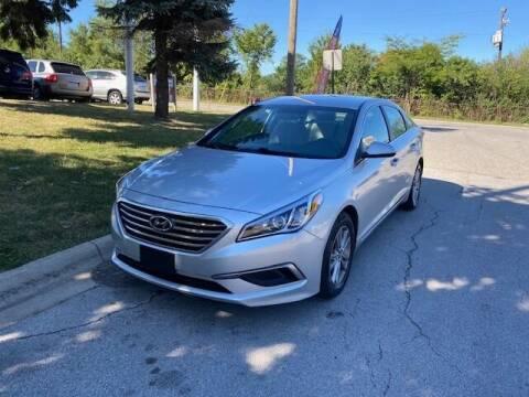 2016 Hyundai Sonata for sale at NORTH CHICAGO MOTORS INC in North Chicago IL