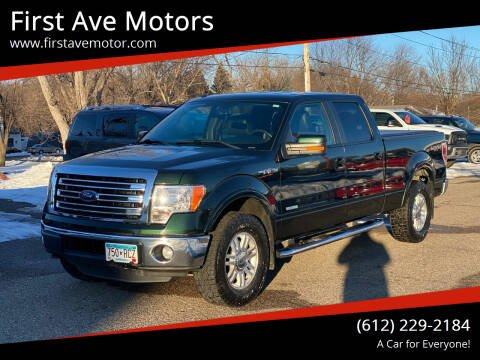 2014 Ford F-150 for sale at First Ave Motors in Shakopee MN