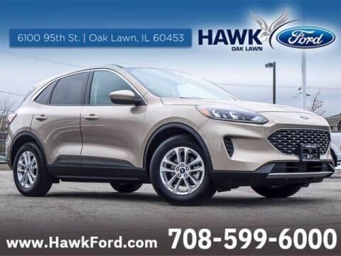 2020 Ford Escape for sale at Hawk Ford of Oak Lawn in Oak Lawn IL