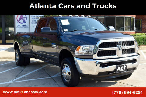 2018 RAM Ram Pickup 3500 for sale at Atlanta Cars and Trucks in Kennesaw GA