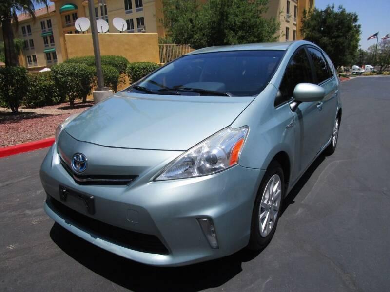 2013 Toyota Prius v for sale at PRESTIGE AUTO SALES GROUP INC in Stevenson Ranch CA