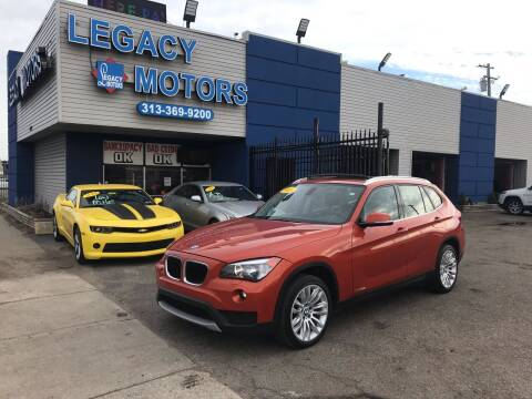 2013 BMW X1 for sale at Legacy Motors in Detroit MI
