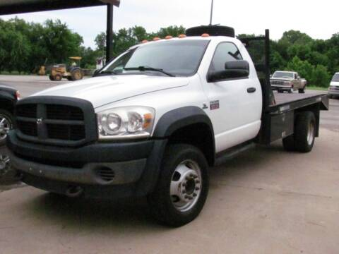2008 Dodge Ram Chassis 5500 for sale at CANTWEIGHT CLASSICS in Maysville OK