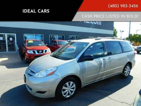 2008 Toyota Sienna for sale at Ideal Cars Apache Trail in Apache Junction AZ