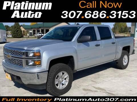 2014 Chevrolet Silverado 1500 for sale at Platinum Auto in Gillette WY