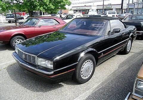 1988 Cadillac Allante for sale at Black Tie Classics in Stratford NJ