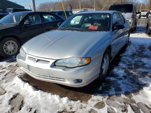 2004 Chevrolet Monte Carlo for sale at ASAP AUTO SALES in Muskegon MI
