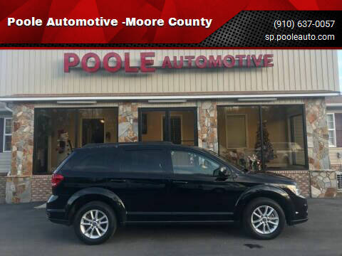 2014 Dodge Journey for sale at Poole Automotive in Laurinburg NC
