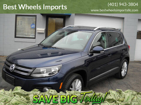 2013 Volkswagen Tiguan for sale at Best Wheels Imports in Johnston RI