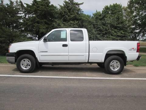 2003 Chevrolet Silverado 2500HD for sale at Joe's Motor Company in Hazard NE