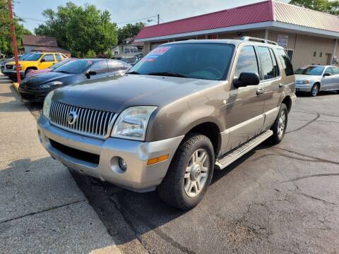 2003 Mercury Mountaineer for sale at THE PATRIOT AUTO GROUP LLC in Elkhart IN