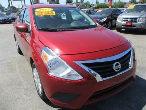 2017 Nissan Versa for sale at GMA Of Everett in Everett WA