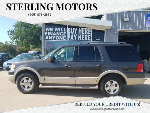 2006 Ford Expedition for sale at STERLING MOTORS in Watertown SD