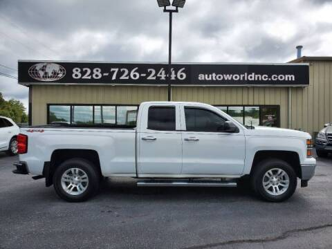 2014 Chevrolet Silverado 1500 for sale at AutoWorld of Lenoir in Lenoir NC