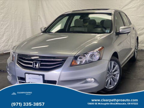 2011 Honda Accord for sale at CLEARPATHPRO AUTO in Milwaukie OR