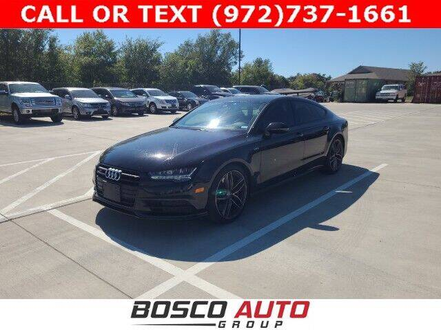 2016 Audi S7 for sale at Bosco Auto Group in Flower Mound TX