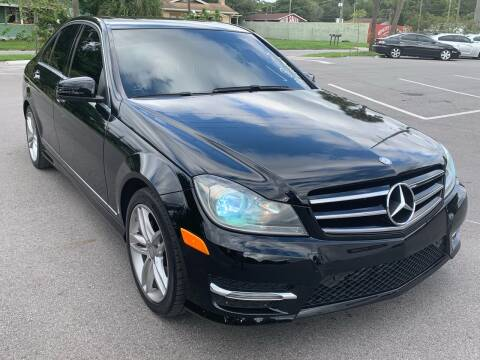 2014 Mercedes-Benz C-Class for sale at Consumer Auto Credit in Tampa FL