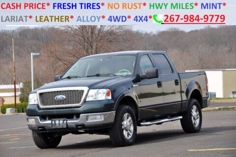 2004 Ford F-150 for sale at T CAR CARE INC in Philadelphia PA