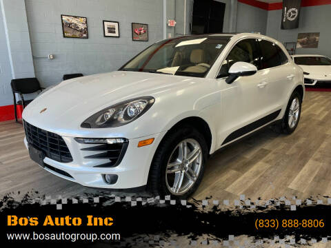 2016 Porsche Macan for sale at Bos Auto Inc in Quincy MA
